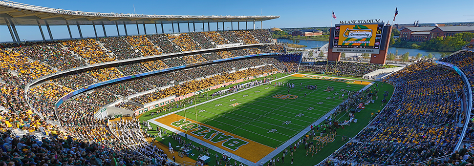 McLane Stadium - Baylor University on