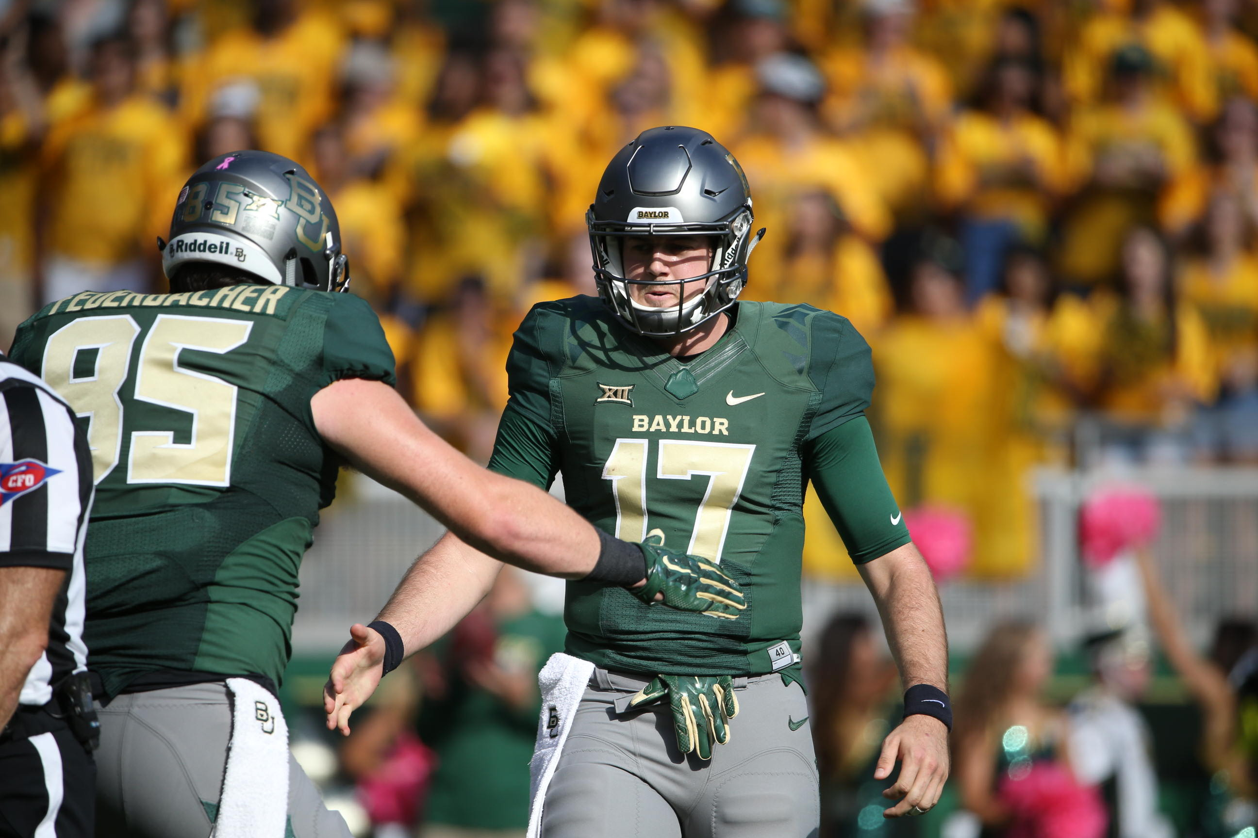 Football S Texas Contest Scheduled For 2 30 P M Kick Baylor University Athletics