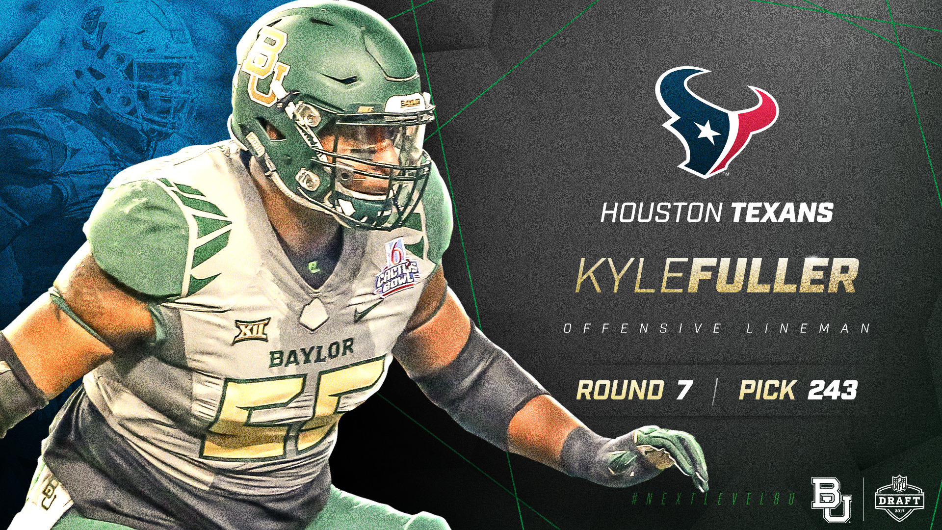 Fuller Picked By Houston Texans In 2017 Nfl Draft Baylor
