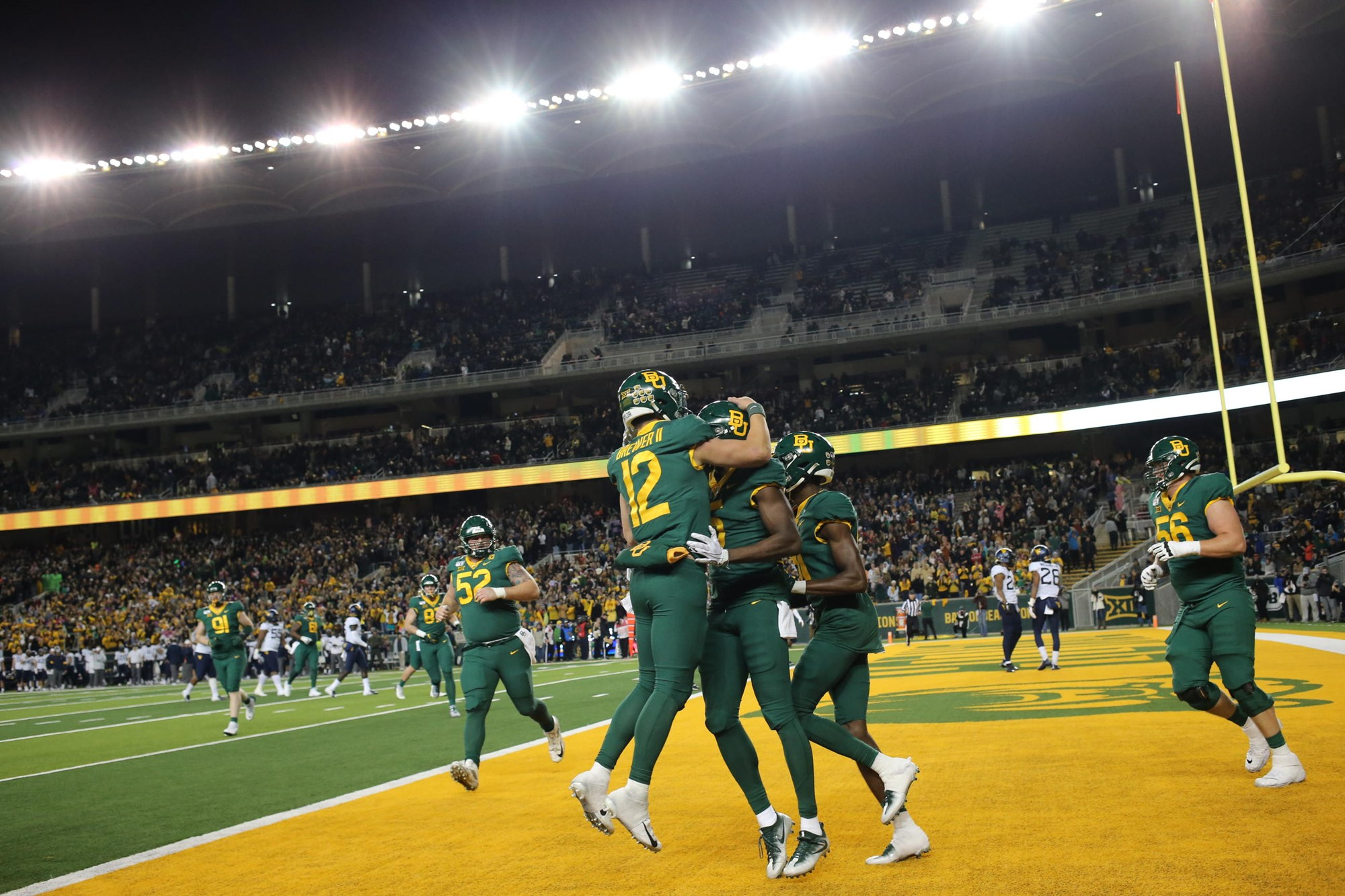 No 10 12 Football Hosts Oklahoma With Gameday In Town Baylor University Athletics