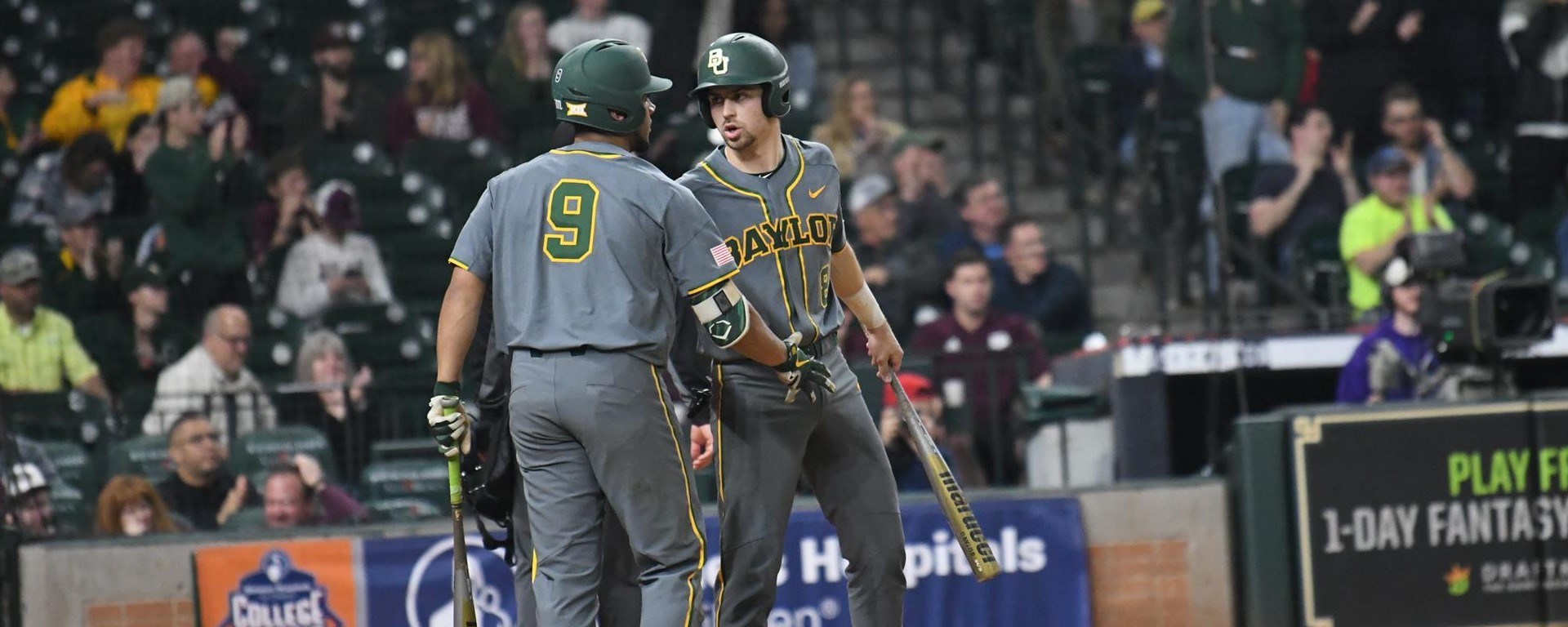 san francisco 6e126 94448 No. 12 Baseball Falls to Texas A&M - Baylor University Athletics