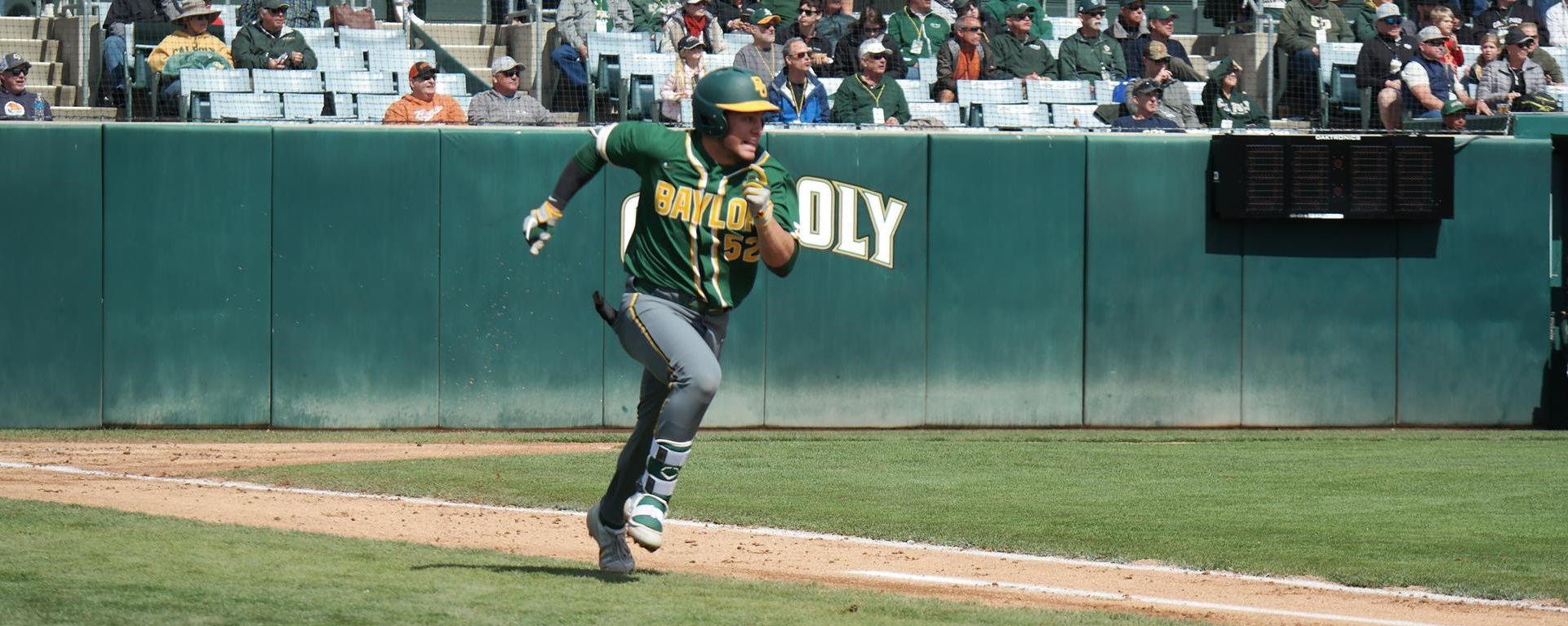 Baseball Welcomes Dbu To Waco For Midweek Contest Baylor University Athletics